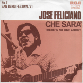 Jose Feliciano - Che sara' (Duitse promo uitgave)