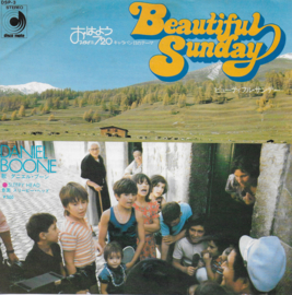 Daniel Boone - Beautiful sunday (Japanese edition)