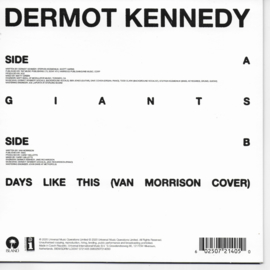 Dermot Kennedy - Giants (English edition, blue vinyl)