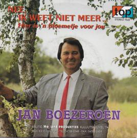 Jan Boezeroen - Nee, ik weet niet meer