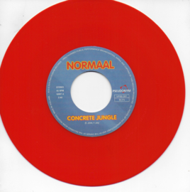 Normaal - Concrete jungle / Look around you (Limited edition, oranje vinyl)