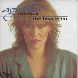 Agnetha Faltskog - The heat is on (Franse uitgave)