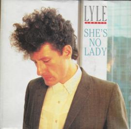 Lyle Lovett - She's no lady