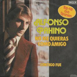 Alfonso Pahino - No me quieras como amigo