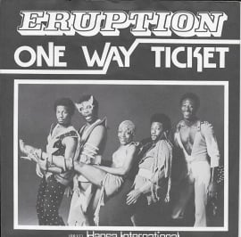 Eruption - One way ticket (Duitse uitgave)