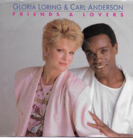 Gloria Loring & Carl Anderson - Friends & lovers (Amerikaanse uitgave)