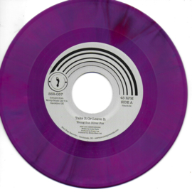 Young Gun Silver Fox - Take it or leave it (American limited edition purple vinyl)