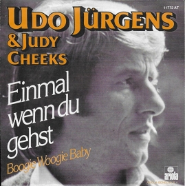 Udo Jurgens & Judy Cheeks - Einmal wenn du gehst