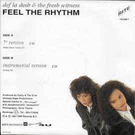 Def La Desh & The Fresh Witness - Feel the rhythm