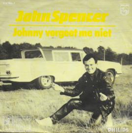 John Spencer - Johnny vergeet me niet (alternative cover)