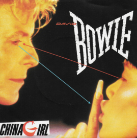 David Bowie - China girl (Duitse uitgave)