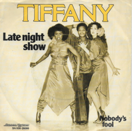 Tiffany - Late night show (Belgische uitgave)