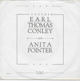 Earl Thomas Conley & Anita Pointer - Too many times (Amerikaanse promo)