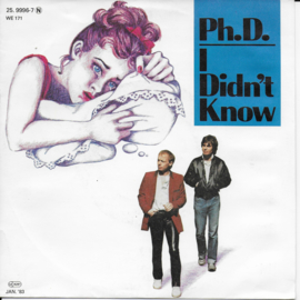 Ph.D. - I didn't know