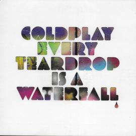 Coldplay - Every teardrop is a waterfall (Blue vinyl)