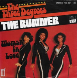 Three Degrees - The runner (Duitse uitgave)