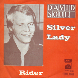 David Soul - Silver lady (Belgische uitgave)