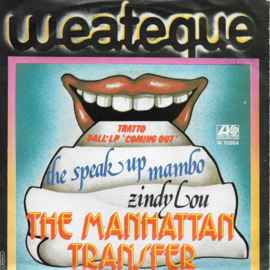 Manhattan Transfer - The speak up mambo (Italian edition)