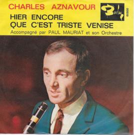Charles Aznavour - Que c'est triste venise