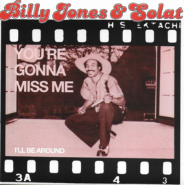 Billy Jones & Solat - You're gonna miss me / I'll be around (Limited edition, rood vinyl)