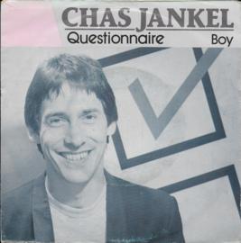 Chas Jankel - Questionnaire