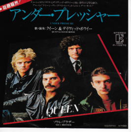 Queen & David Bowie - Under pressure (Japanese edition)