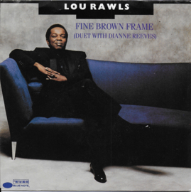 Lou Rawls with Dianne Reeves - Fine brown frame