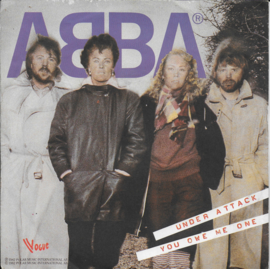 Abba - Under attack (Franse uitgave)