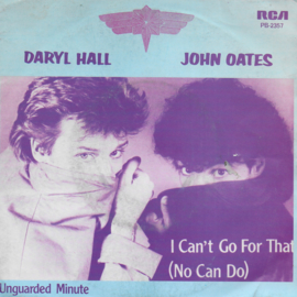 Daryl Hall & John Oates - I can't go for that (no can do) (Belgische uitgave)