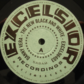 "Danny Vera - The new black and white (10"" vinyl)"