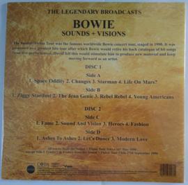 """David Bowie - Sounds + Visions (Limited 10"""" dubbel vinyl)"""