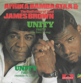 Afrika Bambaataa & The Godfather of Soul James Brown - Unity Part 1 (the third coming)