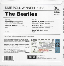 The Beatles - NME Poll Winners 1965 EP