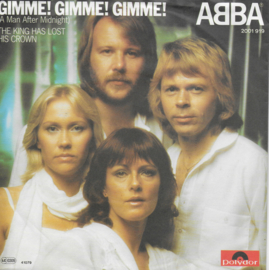 Abba - Gimme! Gimme! Gimme! (a man after midnight) (Duitse uitgave)