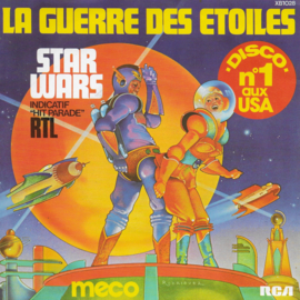 Meco - Star Wars title theme (French edition)