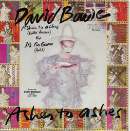 David Bowie - Ashes to ashes (Amerikaanse uitgave)
