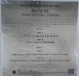 """David Bowie - More Sounds + Visions (Limited 10"""" dubbel vinyl)"""