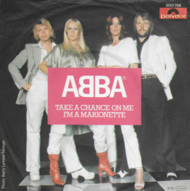 Abba - Take a chance on me (Duitse uitgave)