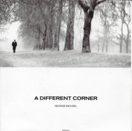George Michael - A different corner (Alternative cover)