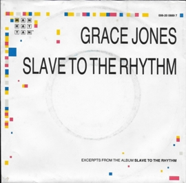 Grace Jones - Slave to the rhythm (alternative cover)