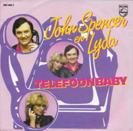 John Spencer en Lydia - Telefoonbaby