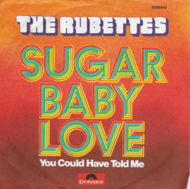 Rubettes - Sugar baby love (Duitse uitgave)
