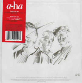 A-ha - Take on me (blue vinyl, Limited edition)