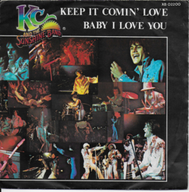KC and the Sunshine Band - Keep it comin' love (Franse uitgave)