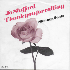 Jo Stafford - Thank you for calling