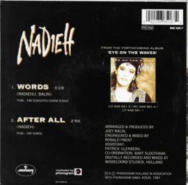 Nadieh - Words