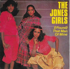 Jones Girls - (i found) That man of mine