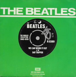 Beatles  - We can work it out / Day tripper (Engelse uitgave)