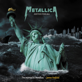 """Metallica - Justice for all (Limited 10"""" dubbel vinyl)"""