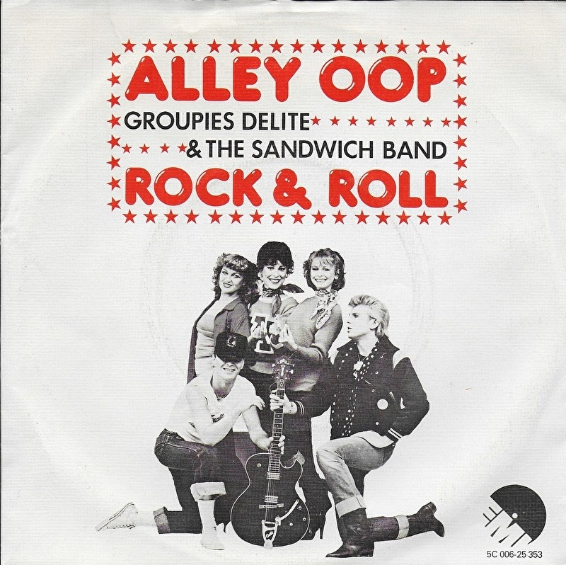 Groupies Delite & The Sandwich Band - Alley oop
